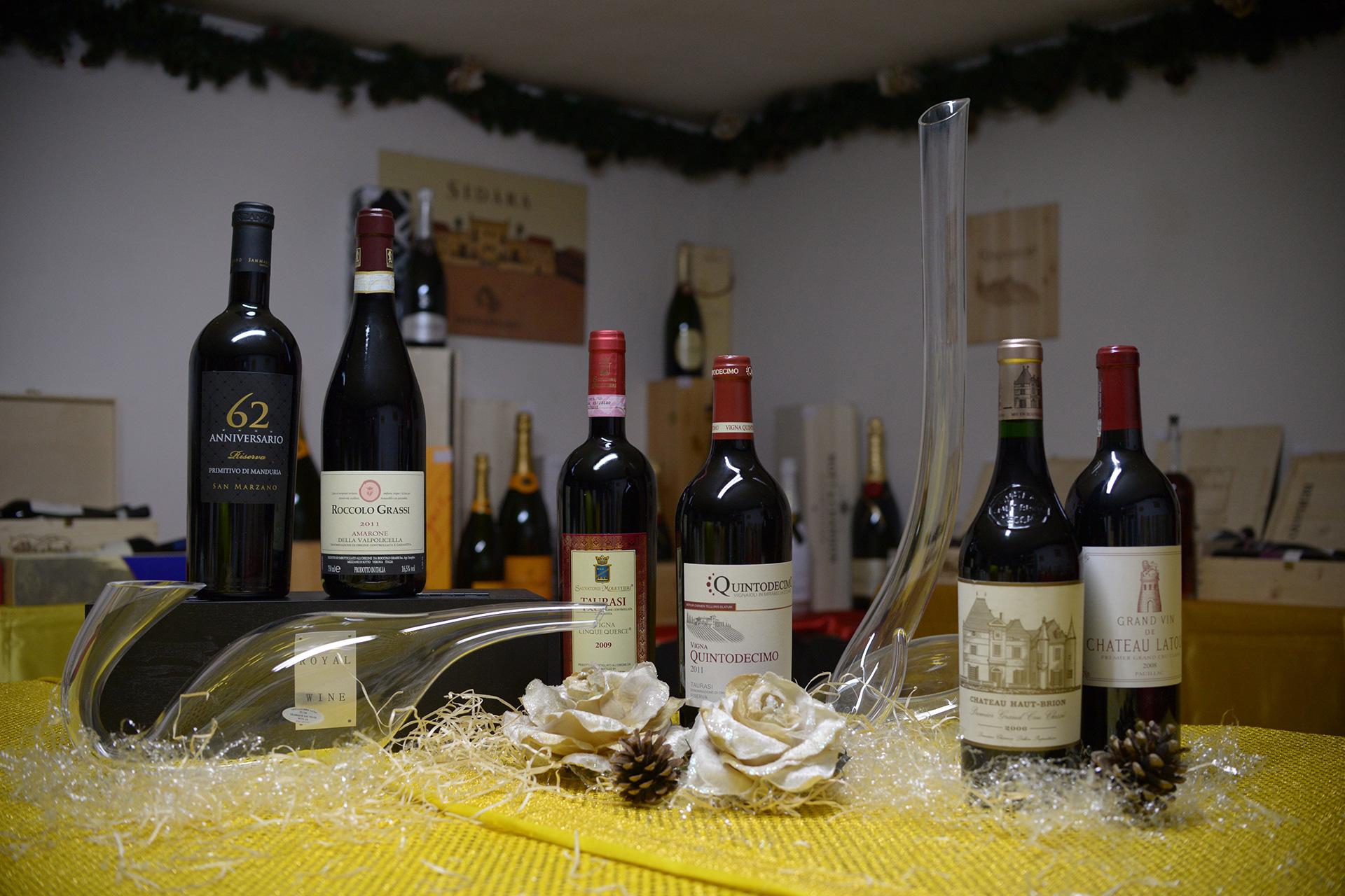 Vini - Sepe Srl - Distribuzione Vino e Liquori